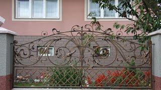 Кованые ворота, заборы(http://texnoblogs.blogspot.com/ Кованые ворота и заборы – визитная карточка Вашего дома. Она может гостеприимно рассказа..., 2014-09-29T15:16:49.000Z)