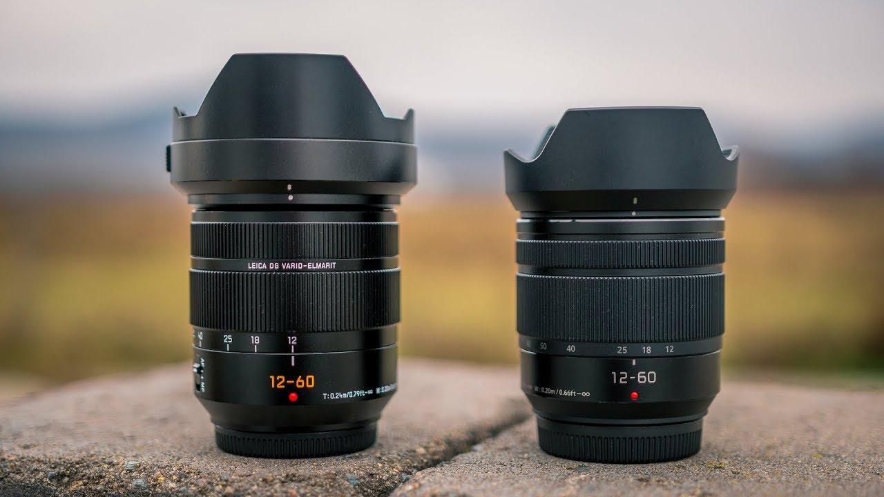 Panasonic Leica 12 60mm F28 40 Vs Lumix F35 56 On Gh5 Body Lens 12mm F 14 Asph G9