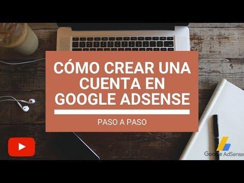 Cómo crear una cuenta en Google AdSense, paso a paso