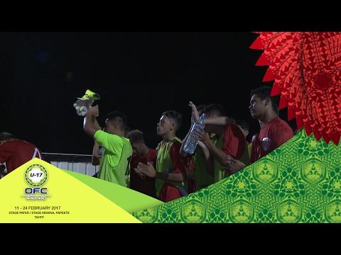 2017 OFC U-17 CHAMPIONSHIP | MD1 Tahiti v Vanuatu Highlights