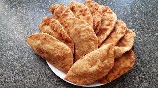 Чебуреки-Супер сочные! Татарский рецепт.