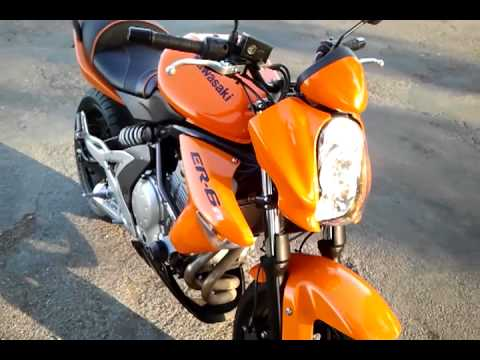 kawasaki er6n 2008 by misiek youtube. Black Bedroom Furniture Sets. Home Design Ideas