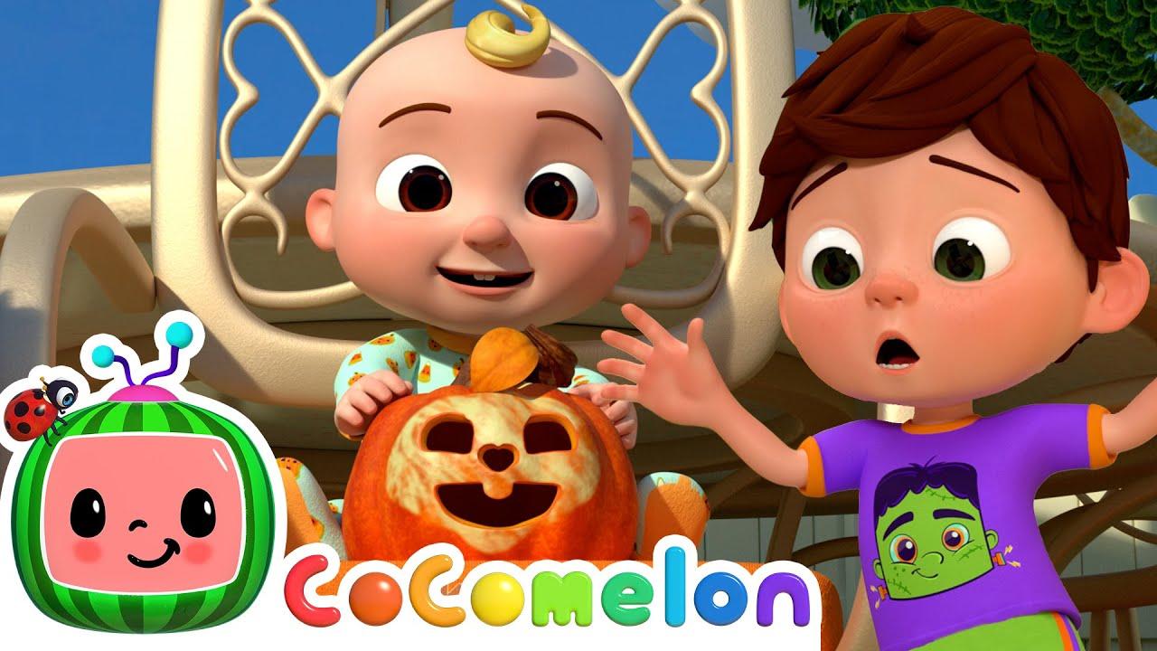 Peek-a-BOO! Halloween Song! | @Cocomelon - Nursery Rhymes | Cocomelon Halloween Kids Songs