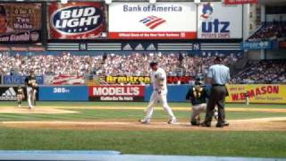 Jason Giambi Homerun, from 2nd row seats