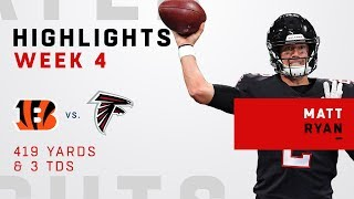 Matt Ryan's Huge Game w/ 419 Yards & 3 TDs!