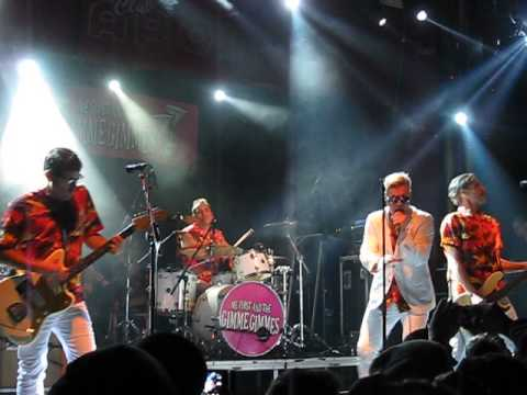 """ME FIRST AND THE GIMME GIMMES """"I Will Survive"""" - Opening Live in Barcelona 2014"""