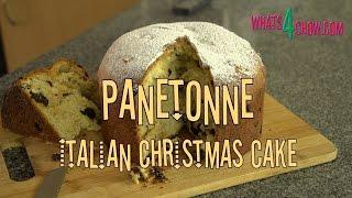 How To Bake Panettone - Italian Christmas Bread. Bake Your Own Italian Christmas Cake At Home.