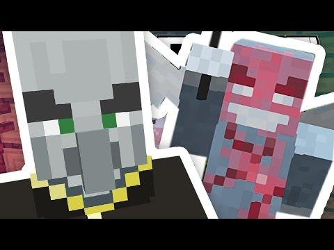 Minecraft 1.11 | MEET THE ILLAGERS!!