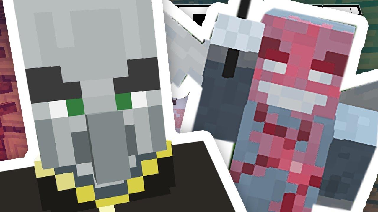 Minecraft 1 11 Meet The Illagers Youtube