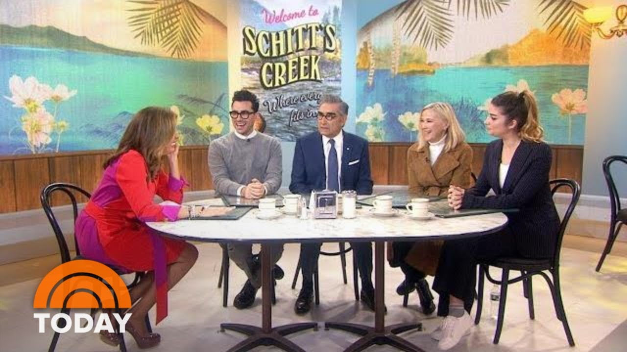 'Schitt's Creek' stars talk about final season of their cult hit