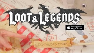 Loot & Legends - Ios / Android - Gameplay Trailer