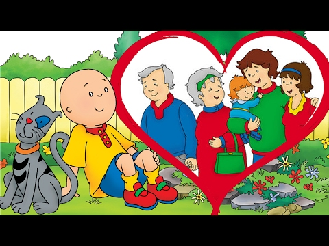 Animated Funny Cartoon  ¦ Cartoon Caillou  Happy Valentines Day Caillou  Cartoons for Children