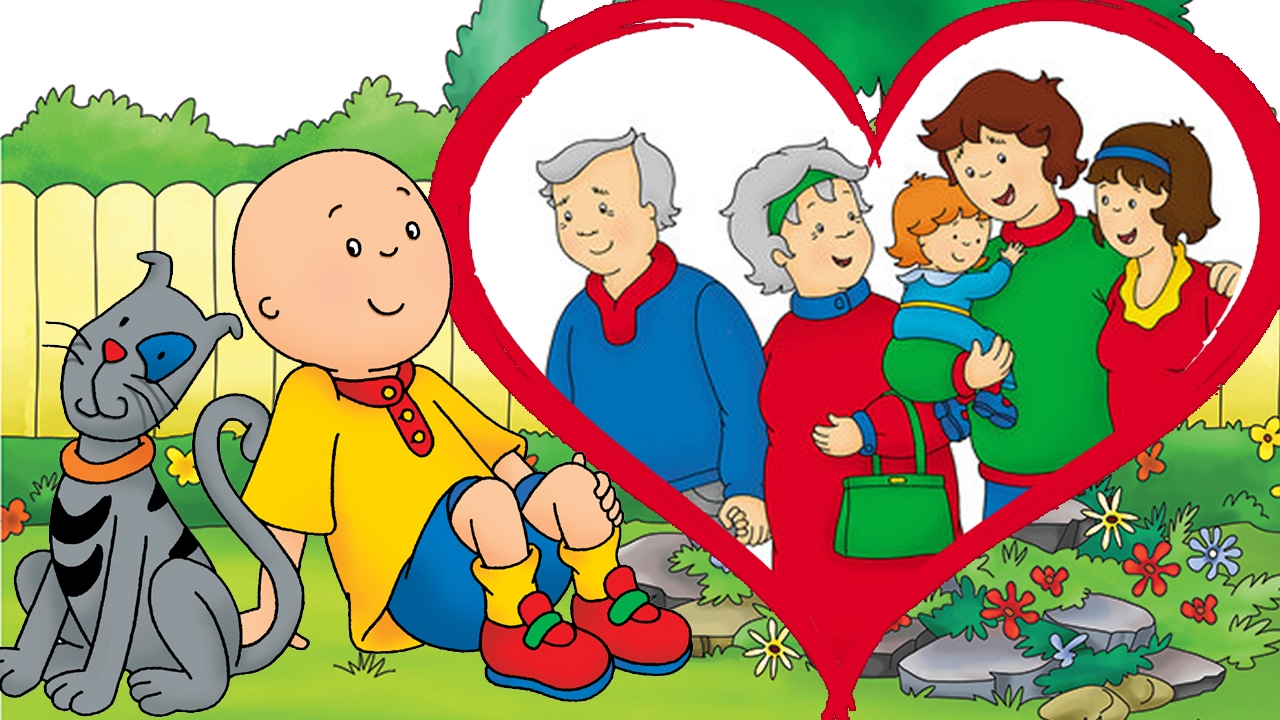 animated funny cartoon cartoon caillou happy valentines day caillou cartoons for children youtube