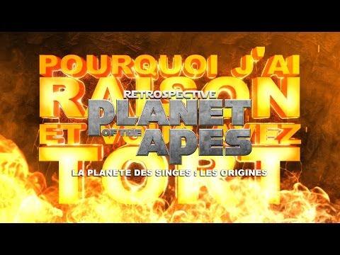 PJREVAT - La Planète des Singes Retrospective - La Planete des Singes : Les Origines (4/4) poster