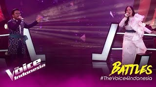 Aku & Dirimu(Ari Lasso, BungaCitraLestari)Genya vs Glorivay | Battles | The Voice Indonesia GTV 2019