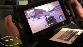 Ces 2013: Razer Edge Gaming Tablet Hands On