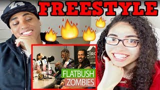 OUR 1ST TIME HEARING FLATBUSH ZOMBIES   FLATBUSH ZOMBIES FREESTYLE ON FLEX REACTION   MY DAD REACTS