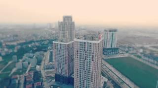 Khu đô thị Văn Khê từ trên cao