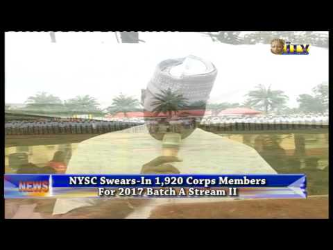 NYSC Swears In One Thousand Nine Hundred And Twenty Corp Members For Batch A Stream Two