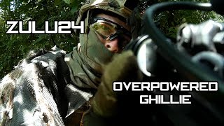 Airsoft Gameplay - Zulu24 Overpowered Ghillie thumbnail