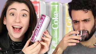 People Try The New Diet Coke Flavors
