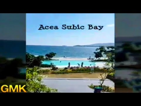 Infinity pool and beach at Subic, Zambales for summer trip