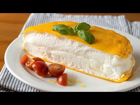 ¡DESAYUNO en 15 minutos! Esponjosa y fácil tortilla de 2 ingredientes que se deshace en la boca