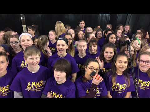 Milford Middle School Band & Chorus Promotional Video