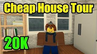 My Cheap Bloxburg House Tour (Roblox)