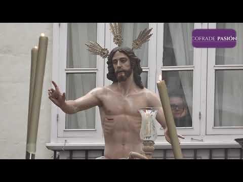 Sagrada Resurrección por Tinte, Valverde y Ancha (Semana Santa de Cádiz 2019)