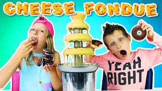 vuclip Cheese Fondue Challenge