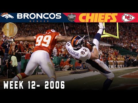 The First EVER NFL Network TNF Game! (Broncos vs. Chiefs, 2006) | NFL Vault Highlights