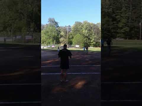 14 year old Andrew Adams smashes homerun (Adams)