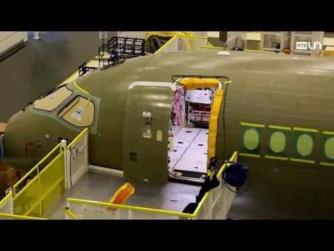 TTC - Le nouvel avion Bombardier
