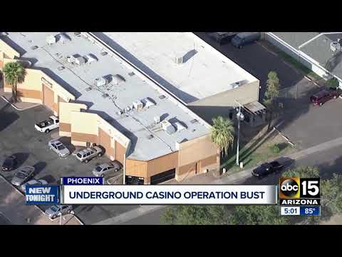 Underground Casino Operation Busted In Phoenix