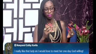 Judith Heard ku Mwasuze Mutya