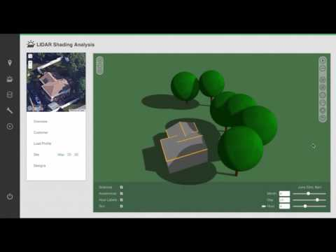 Automatic 3D Modeling & Shading using LIDAR
