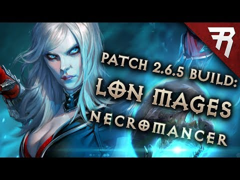 Diablo 3 Season 19 Necromancer LoN Singularity Mages Build Guide - Patch 2.6.7 (Torment 16)