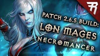 Diablo 3 Season 17 Necromancer LoN Singularity Mages build guide - Patch 2.6.5 (Torment 16)