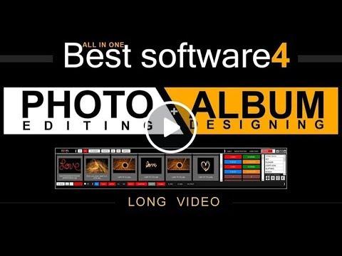 Best Software for Photo editing & Album Designing (Long Video) BlackMagic  Photoshop Plugin