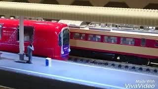 Nゲージ えちごトキめき鉄道「雪月花」っぽい車両