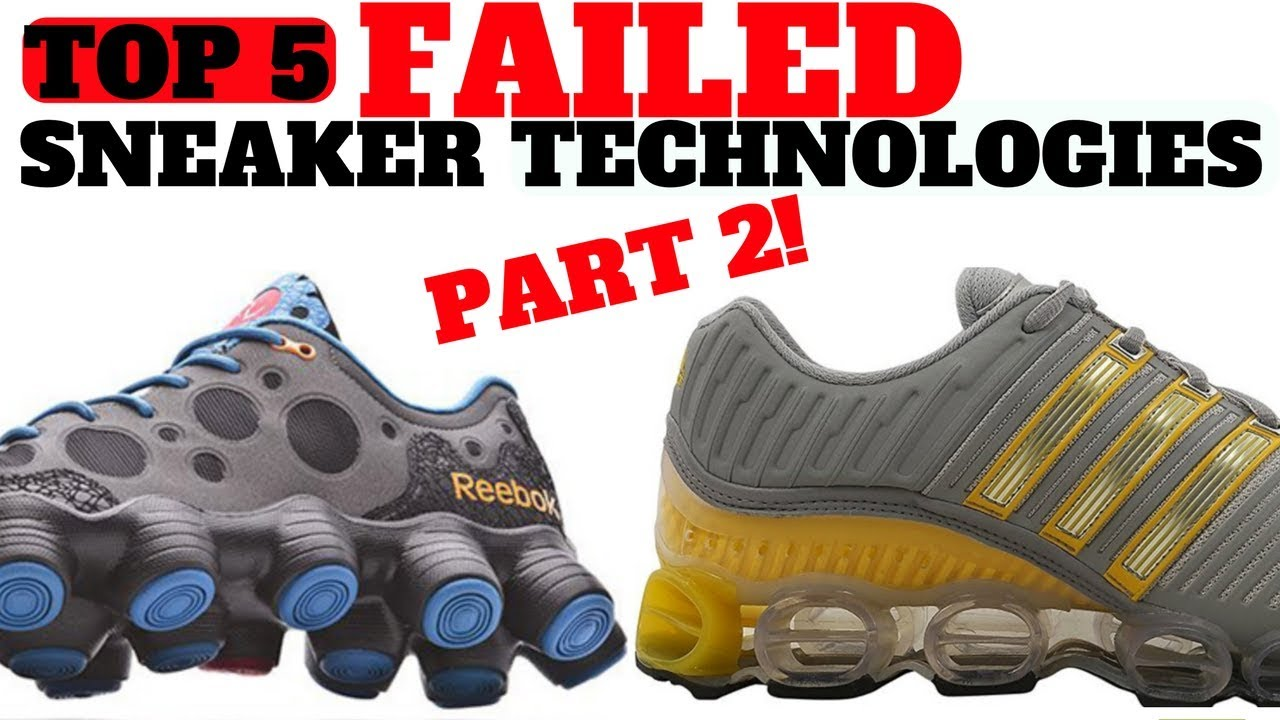 339daf9ac3ff Top 5 FAILED Sneaker Cushioning Technologies Part 2!! - YouTube