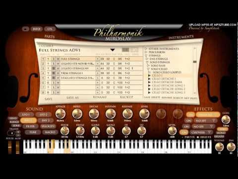 Meistersinger Overture using Miroslav Philharmonik