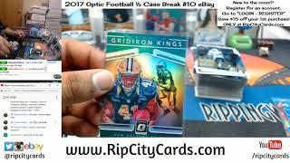 2017 Optic Football Half Case #10 Pt 1 eBay