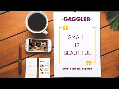 The Gaggler | Small Is Beautiful | Interview With Kelly Marie Hodgkin