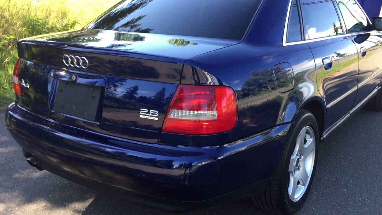 Audi A4 Quattro Auto Leather Fully Loaded Alloy