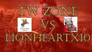 Total War Zone Vs Lionheartx10 - Total War: Rome II - Online Battle (Rome Vs Bactria)
