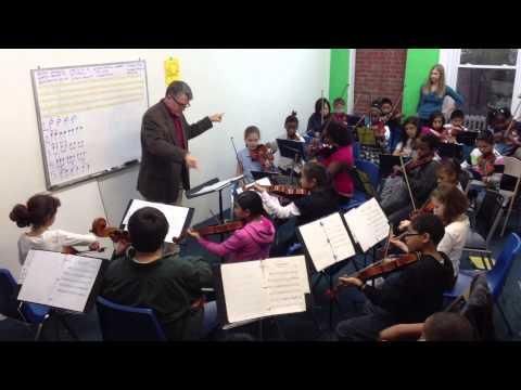MYCincinnati plays Tchaikovsky with Cincinnati Pops Orchestra conductor John Morris Russell