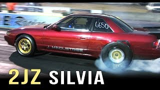 2JZ Silvia runs 8.25 @ 170mph