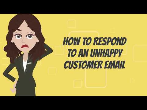 How To Respond To An Unhappy Customer Emails